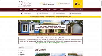 Trentan The Best Log Cabins For Sale
