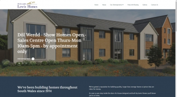 Lewis Homes Wales | Buy Property | Property Development | 95% Mortgages