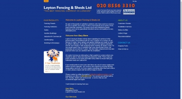 London Fencing & Sheds Ltd