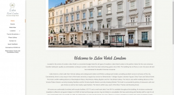 Lidos Hotel - Budget Hotel London | Home