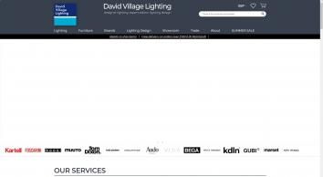 Designer lighting shop for Flos, Artemide, Fabbian, Foscarini & Light Attack from David Village Lighting Sheffield