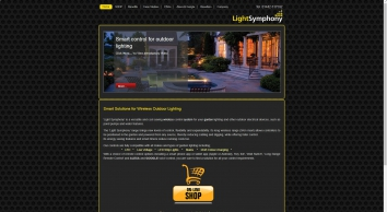 Smart solutions for wireless outdoor lighting and external device control | Light Symphony