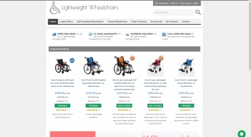 Lightweight Wheelchairs Direct