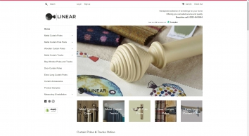 Linear Curtain Poles