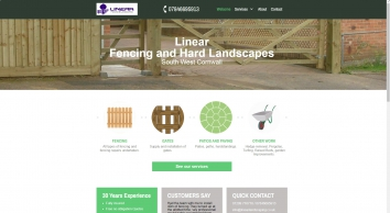 Linear Fencing & Landscaping