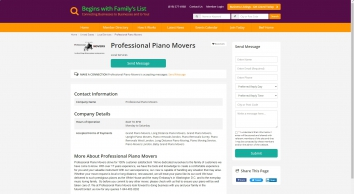 Professional Piano Movers - Local Services - Local Business Listings