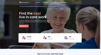 Live In Care Jobs - Find Live In Carer Work