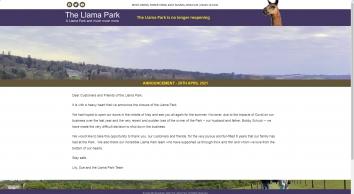 Llama Park East Sussex
