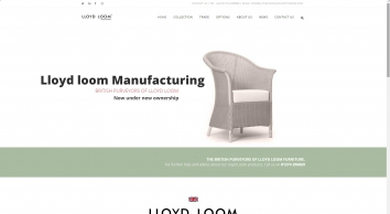Lloyd Loom Manufacturing: The ONLY UK makers of Lloyd Loom Furniture