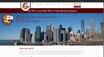 NYC Residential, Commercial Movers, Local Man With A Van, BrooklynLocal Man With a Van