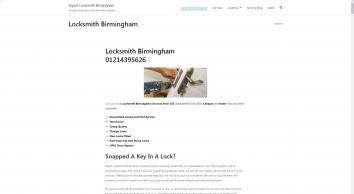 Locksmiths Birmingham