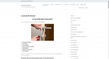 Locksmith Bristol 0117 2390282 Fast Unlock & Lock Change No VAT