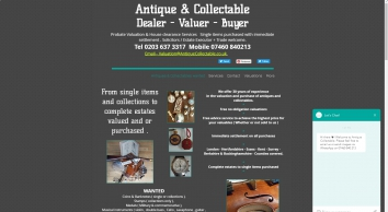London Antique & Collectable Jewellery, Silver, Art, Probate valuation