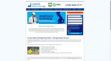 Water Damage Restorations London by Experts