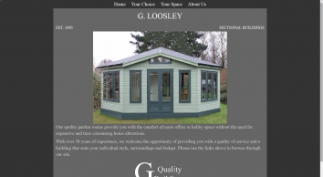 Loosley sectional buildings | Bespoke garden spaces