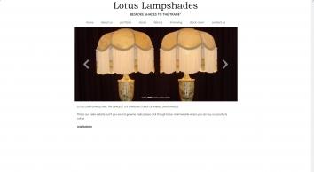 Lotus Lampshades