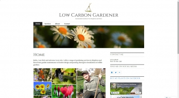 The Low Carbon Gardener - Home