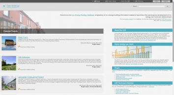 Low Energy Database