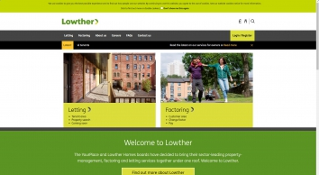 Lowther Homes, Scotland
