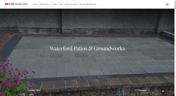 Waterford Patios Groundworks Driveways Brick Paved   LSB Marketing