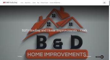 B & D Home Improvements - Roofers Cork Painters   LSB Marketing