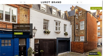 Lurot Brand, South Kensington