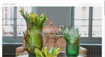 LUXURY  LIVING | The trade arm of Lewis Wark