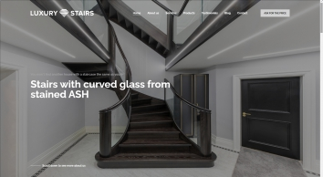 LuxuryStairs - Our company specialize in manufacturing of straight and curved wooden stairs.