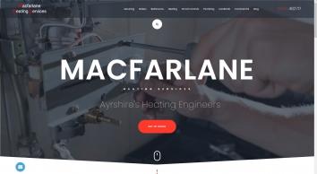 Macfarlane Heating Services   Gas Engineers Ayrshire