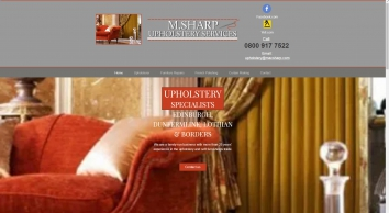 M Sharp Upholstery Services