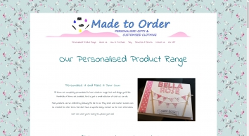 Made to Order Personalised Gifts, Sheffield
