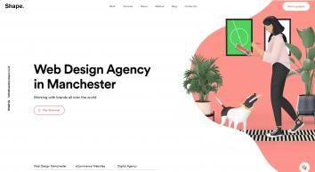 Web Design Manchester | Web Design Agency | Craft CMS… | MadeByShape