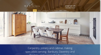 Carpentry and joinery | M.A.D. Joinery