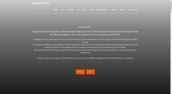 Magma fire pits