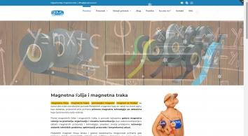 Magnetna folija i magnetne trake | GAUS Magneti Požarevac