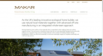 Makar Construction Inverness   Building Design, Manufacture and Construction