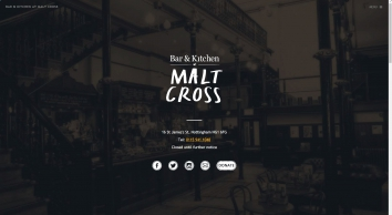 Malt Cross Ltd