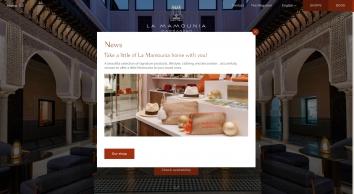 ⇒ La Mamounia - Palace Marrakesh Morocco   Hotel & Spa - OFFICIAL
