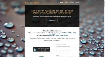 Manchester Plumber 24/7/365
