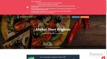Market Diner Brighton - Pizza Delivery - Brighton