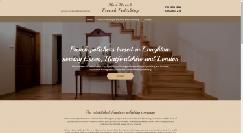 Expert wood finishing in Loughton with Mark Morrell French Polishing
