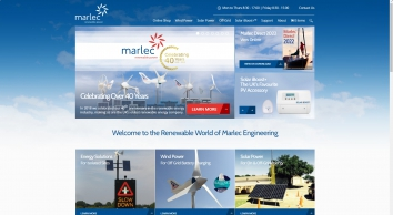 Marlec - A UK Manufacturer of Battery Charging Off-Grid Wind Turbines