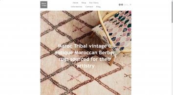 Maroc Tribal Vintage Moroccan Carpets