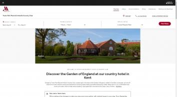 Hotel in Kent, UK - Maidstone | Tudor Park Marriott Hotel & Country Club