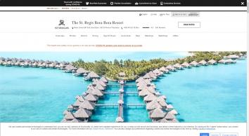 The St. Regis Bora Bora Resort - Bora Bora   SPG