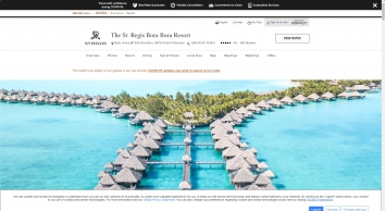 The St. Regis Bora Bora Resort - Bora Bora | SPG