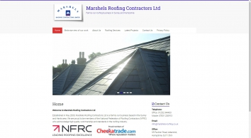 Nfrc Marshels Roofing Contractors Ltd Farnham Runfold