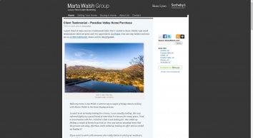 The Marta Walsh Group   Russ Lyon Sotheby\'s