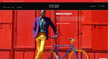 Martone Cycling Co.: Best Urban Bicycles & Accessories