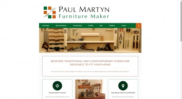 Paul Martyn Furniture Maker